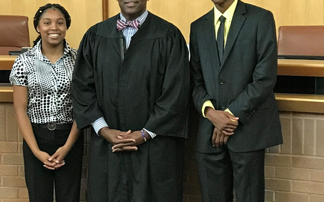 Justice Robert Benham Summer Law Camp receives full support from Johnson & Freeman, LLC